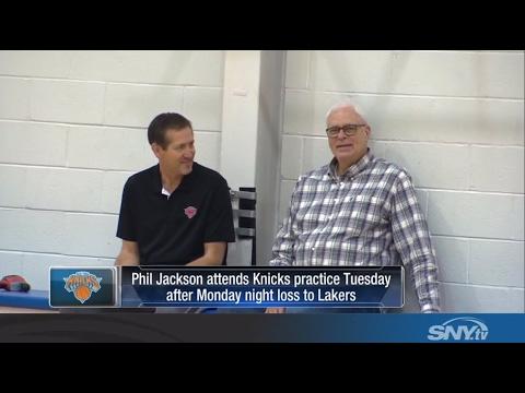 Jeff Hornacek, Phil Jackson indicate Knicks will keep Kristaps Porzingis