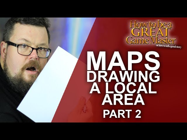 Map Drawing: A Local Area - Part 2 - Arkanvale - Game Master Tips - How to be a great game master