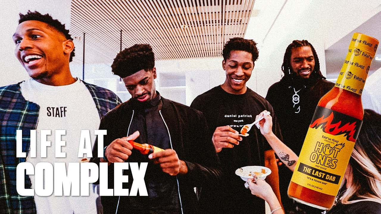 NBA G League Players Take Over Complex & Try Last Dab Hot Sauce | #LIFEATCOMPLEX