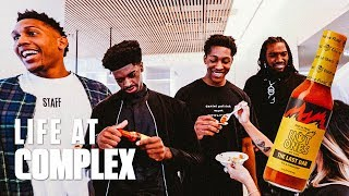 NBA G League Players Take Over Complex & Try L...