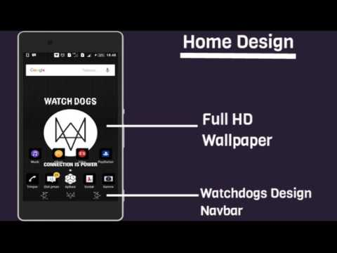Xperia Theme : Watchdogs By Renaldy