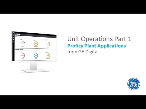 Unit Operations, Part 1