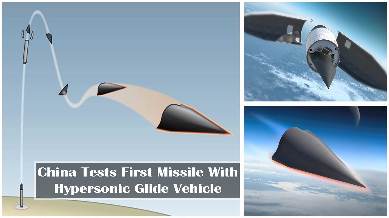 China Tests New Ballistic Missile 'DF-17' With Hypersonic Gliders - YouTube