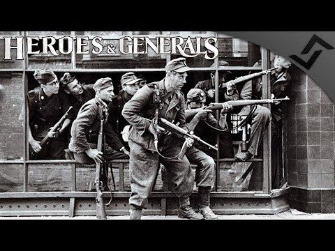 MP 40 Factory CQB - Heroes and Generals - German Blitz w/ My Favorite Gun