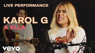 "Download Karol G - ""A Ella"" Live Performance | Vevo Mp3 and Videos"