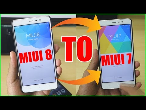 Roll Back to MIUI 7 from MIUI 8! [How to Guide]