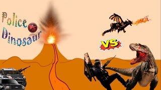 3D Animation Cartoon for Kids - Dinosaurs & Alien Funny Cartoon Video For Children