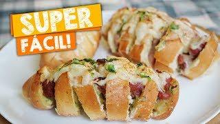 Receita Deliciosa de Pão Recheado de Linguiça Toscana