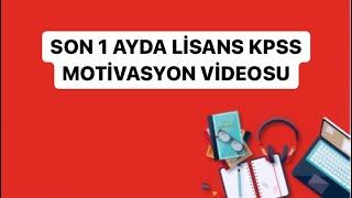 Son 1 Ayda KPSS