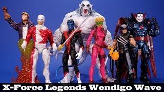 """Marvel Legends boom boom Wendigo BAF Wave 2019 X-Force loose 6/"""" 1:12 fourragères"""