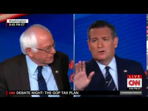 Ted Cruz Embarrasses Bernie Sanders With JFK Taxes Quote