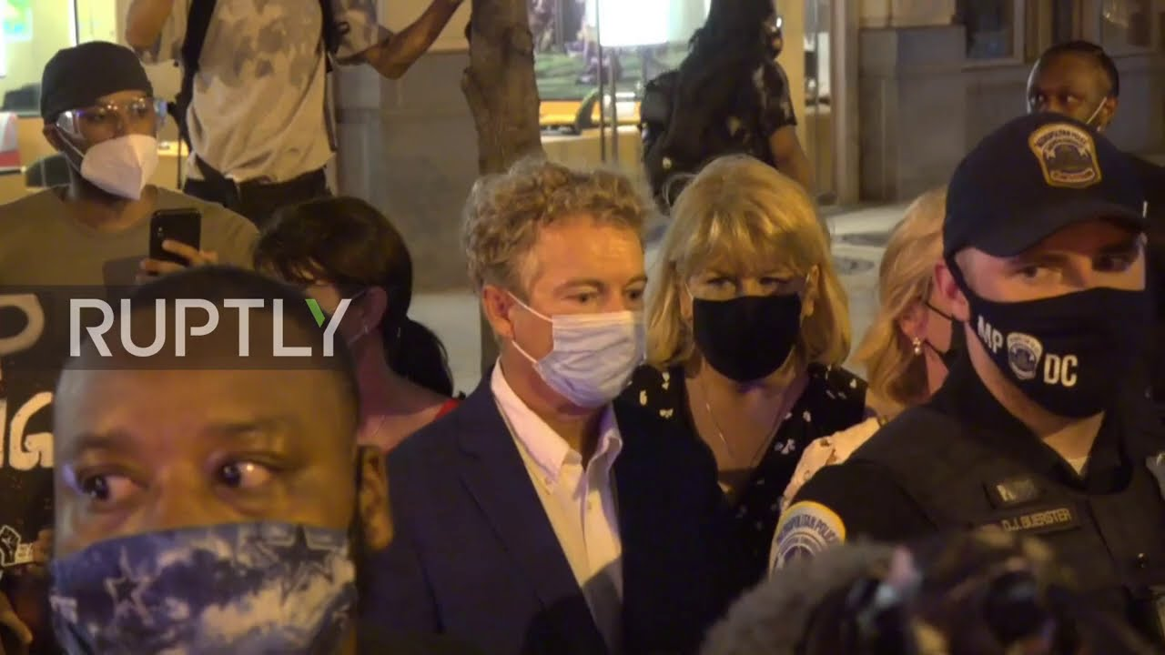 Donald Trump: Police who escorted Rand Paul after RNC to receive ...