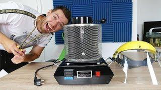 Unboxing meines 400€ SCHMELZOFEN für EXPERIMENTE! - Erhitzt Metall bis zu 1150 Grad!