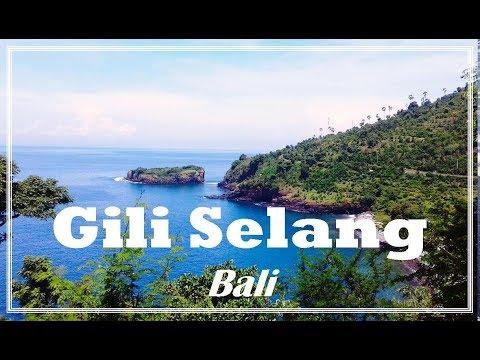 Gili Selang Tempat Wisata Baru Di Karangasem Bali Youtube