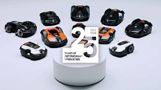25 Years of Automower® Innovation