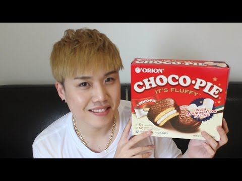 5 ways to eat a Choco pie 초코파이 deliciously