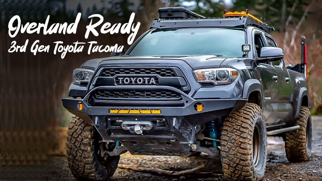 Overland Ready - Long Bed 3rd Gen Toyota Tacoma - Exterior and Interior Mod  - Walk Around