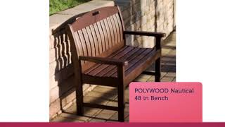 Buy Online Polywood Benches & Gliders at Polywood Furniture