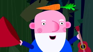 Ben and Holly's Little Kingdom | Carrothead Comes to Town | Kids Videos