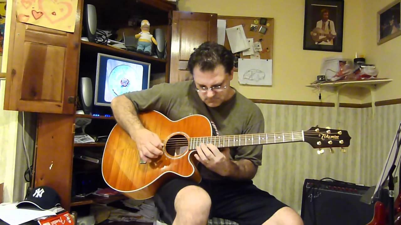 Grateful Dead Box Of Rain Guitar Cover Youtube