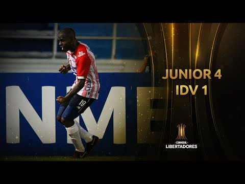 Junior vs. Independiente del Valle [4-1] | RESUMEN | Fase de Grupos | Jornada 4 | Libertadores 2020