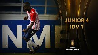 Junior vs. Independiente del Valle [4-1] | RESUMEN | Fase de Grupos | Jornada 4 | Libertadores 2020
