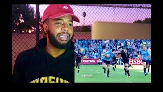 Football Fan Reacts To Rugby Outrageous HITS