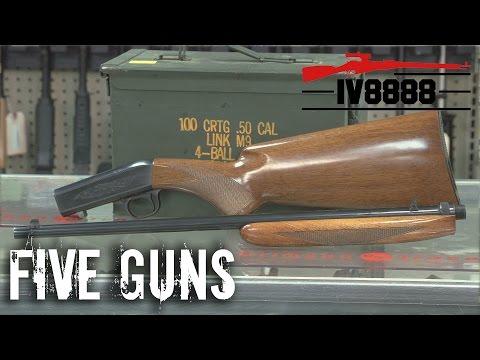 Top 5 .22 Takedown Rifles