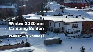 Winter 2020 am Camping Sölden