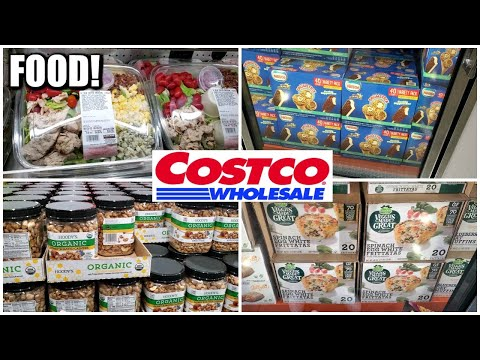COSTCO FOOD WITH PRICES SHOP WITH ME VIRTUAL SHOPPING 2020