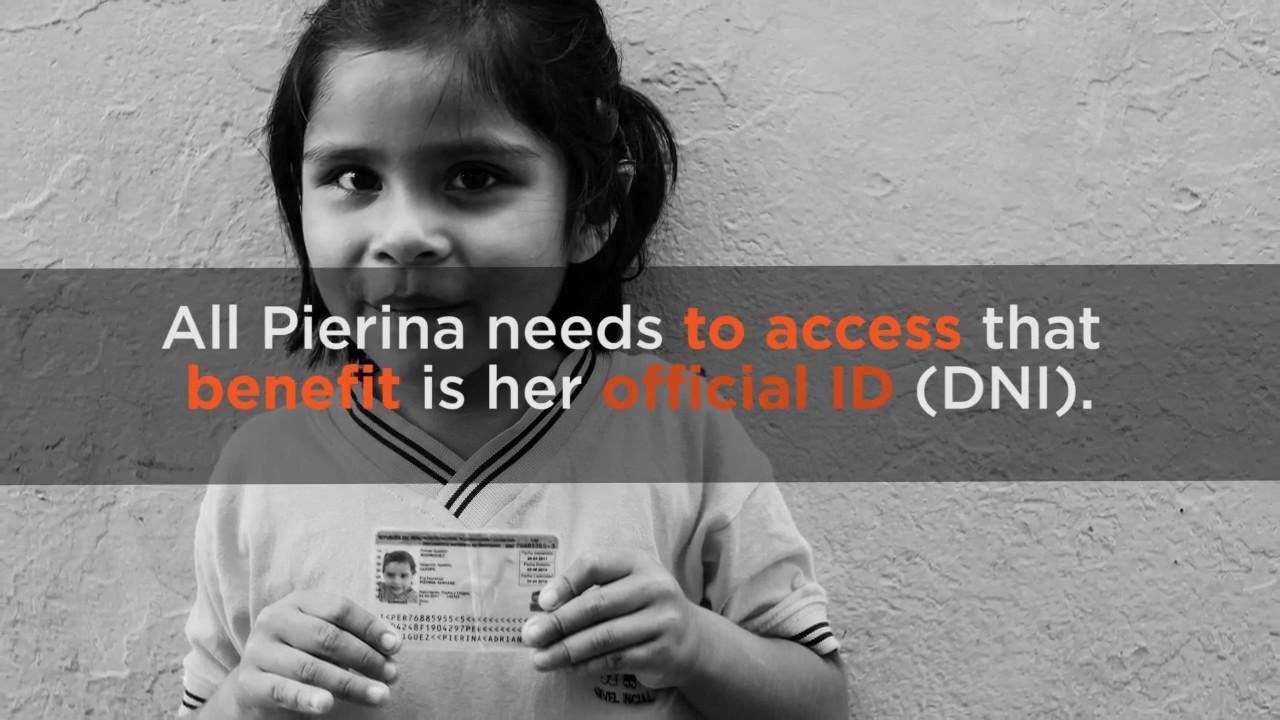 Every ID has a story: Pierina