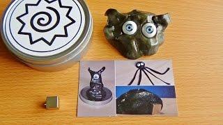 Умный магнитный пластилин.Посылка с Aliexpress,жвачка для рук.