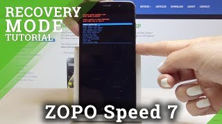 How to Enter Recovery Mode in ZOPO Speed 7 - Android System Recovery