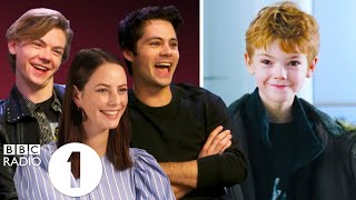 \Are you the little boy from Love Actually?\ The Maze Runner cast on fans, parties and bad tattoos.