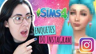 MEUS SEGUIDORES CRIARAM A MINHA SIM - The Sims 4 Cas Challenge - Enquetes do Instagram