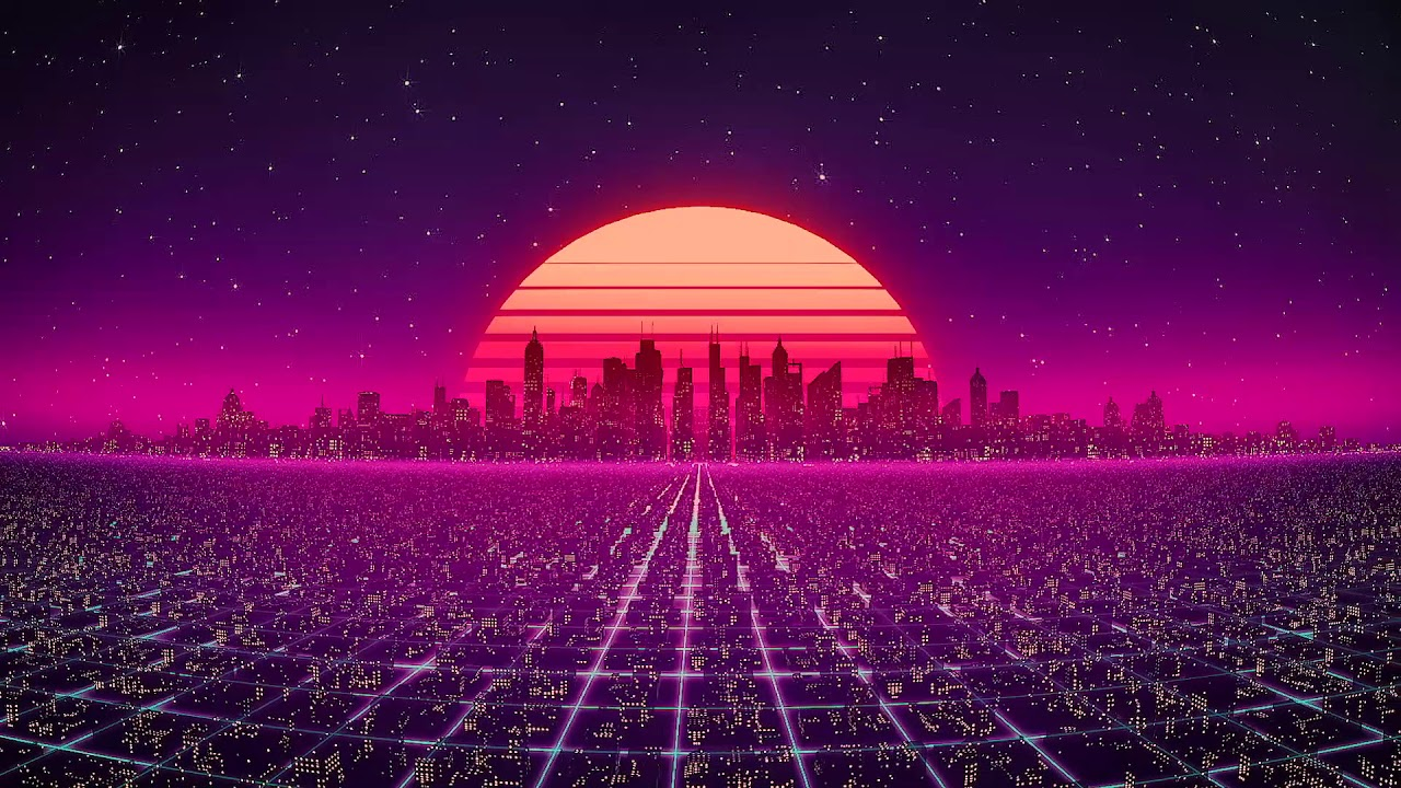 Download Synth City Screensaver by Visualdon (10 Hours)