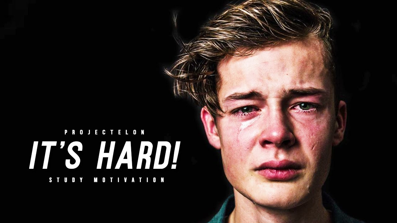 """It's Hard Getting Good Grades"" – Study Motivation"