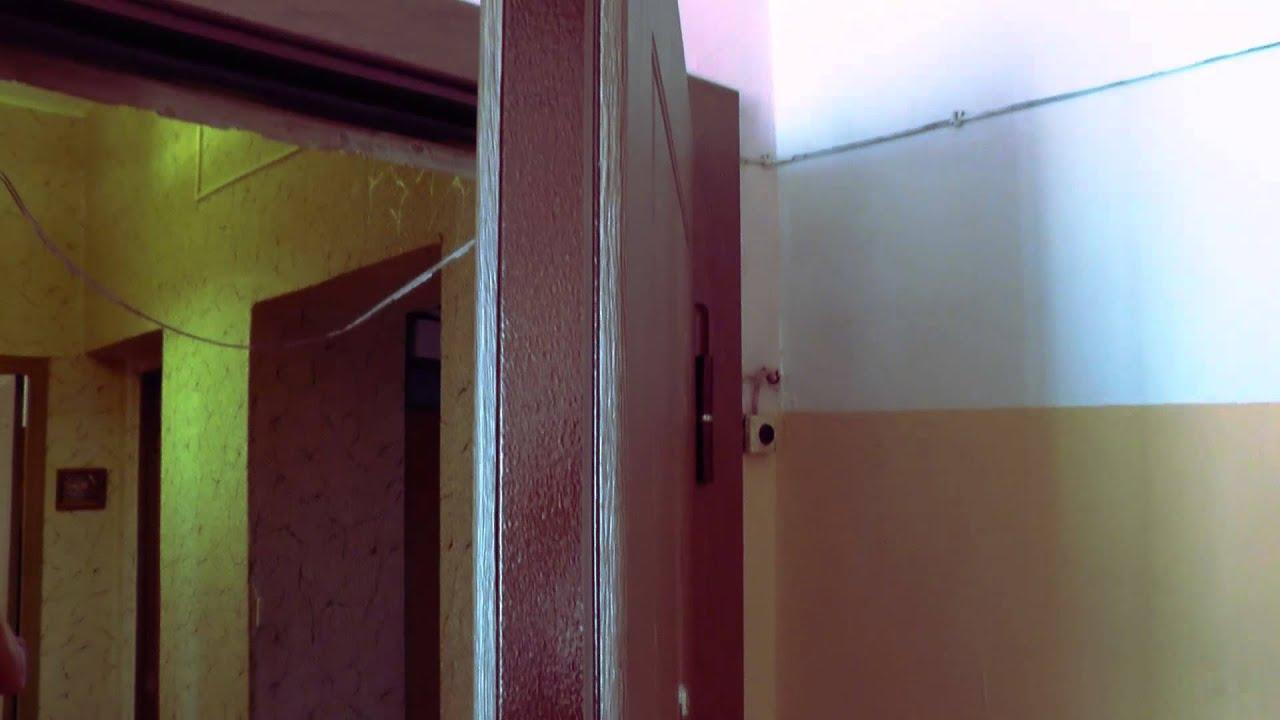 Стальная дверь, отделка - МДФ с ПВХ покрытием с двух сторон.