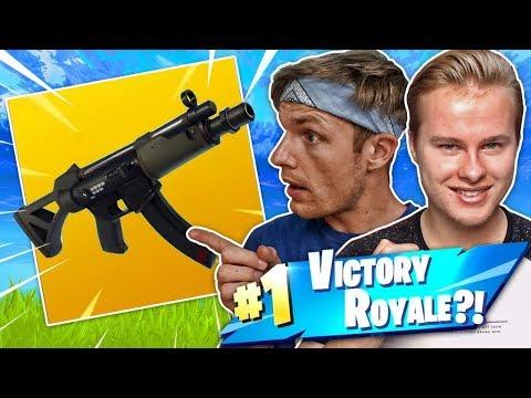 DE NIEUWE SUB MACHINE GUN TESTEN MET ENZO!! - Fortnite Battle Royale (Nederlands)