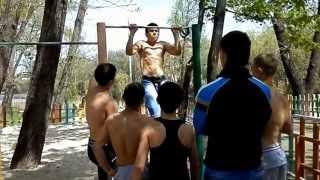Конвективная тренировка г. Кривой Рог (Street Workout)