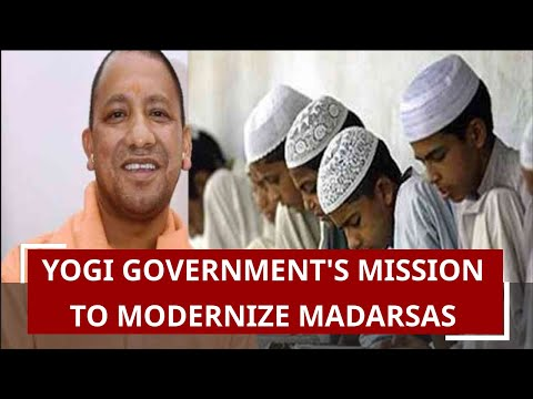 Yogi`s U.P Govt To Modernise Madrassas; NCC & Scouts Training To Be Given To Students