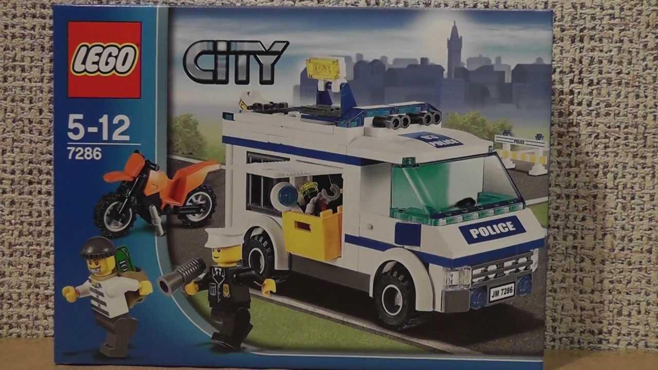 Lego City 7286 Konwój Youtube