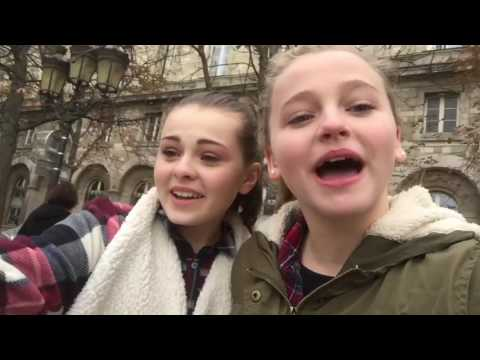 Our trip to Paris! With Madison Wolfe