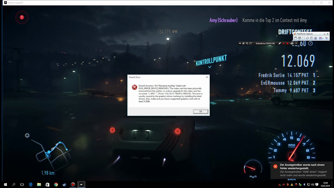 amd driver crashes when playing games