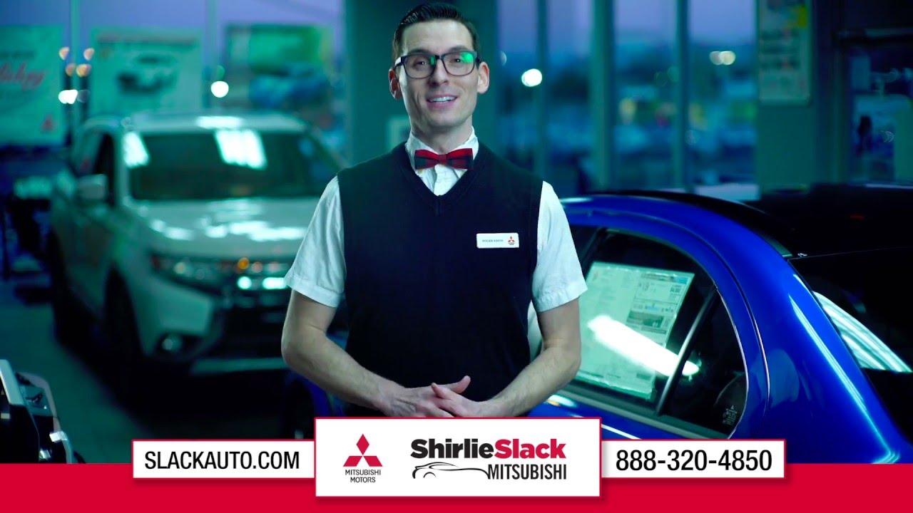 shirlie slack mitsubishi bobby commercial - fast approvals - youtube