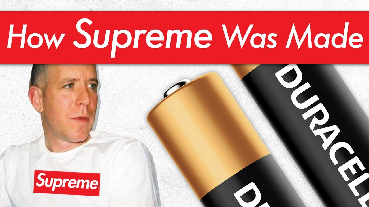 How a Duracell Worker Invented Supreme with His Last $100