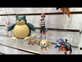 New Pokemon Sun & Moon Action Figures: Toy Fair NY 2017 TOMY Booth Tour