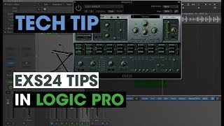 Tech Tip - ESX24 Tips In Logic Pro