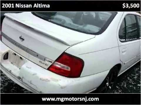 2001 Nissan Altima Used Cars Perth Amboy Nj Youtube