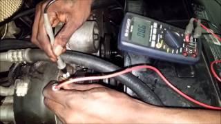 a c compressor clutch testing